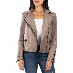 KUT from the Kloth Faux Suede Eveline Jacket Large